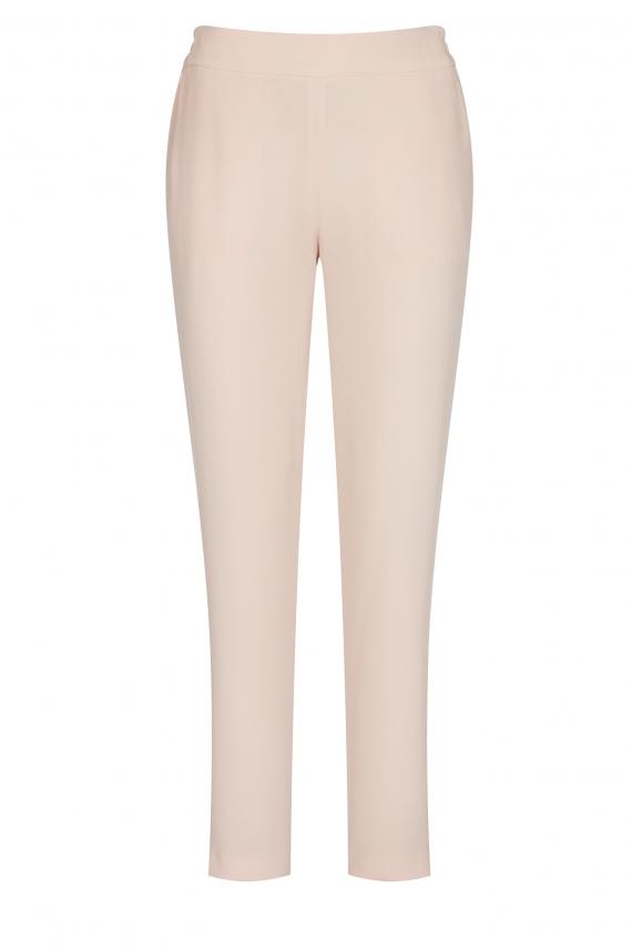 Spodnie tkaninowe z gumą w pasie